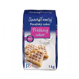 Cukor práškový MANYA 1kg 18