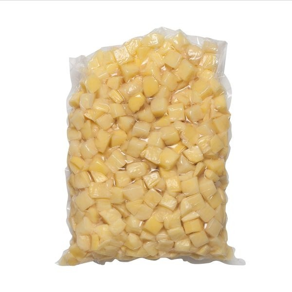 Zemiak čistený kocky 2x2  VARENÉ 5kg/bal 1