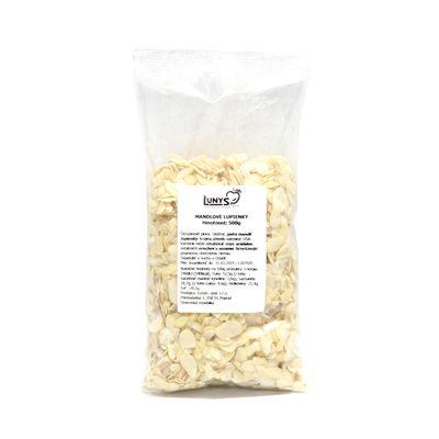 Orechy - mandle hoblované LUNYS 500 g 1