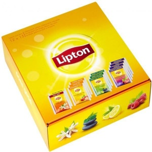 ČAJ Classic mix box LIPTON 180ks / Bal. 7