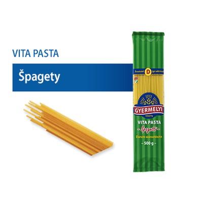 Cestoviny GYERMELYI Špagety 500g 1
