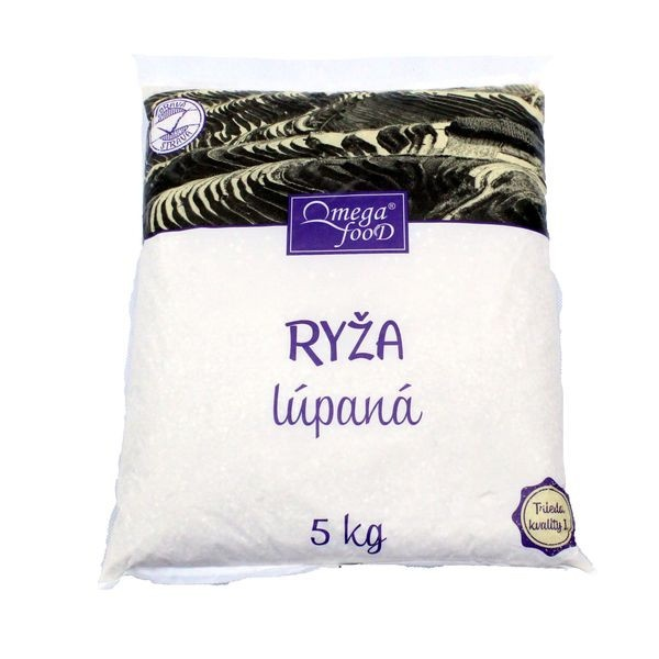 Ryža guľatozrnná OMEGA 5KG 1