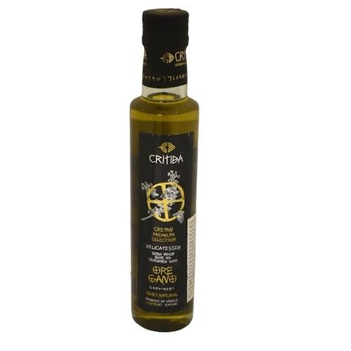 Olej olivový extra panen. s oregánom CRITIDA 250ml 1