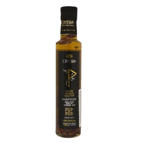 Olej olivový extra panenský s feferónkami 250ml 1