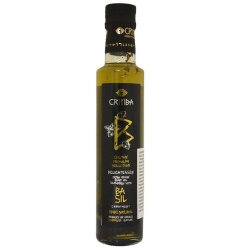 Olej olivový extra panenský s bazalkou 250ml 1