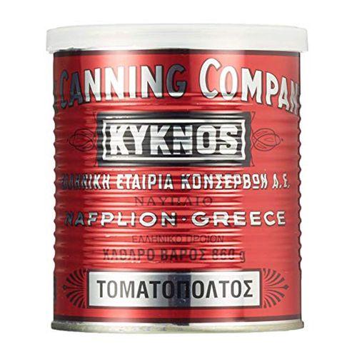 Pretlak paradajkový dvojitý koncentr. KYKNOS 860 g 1