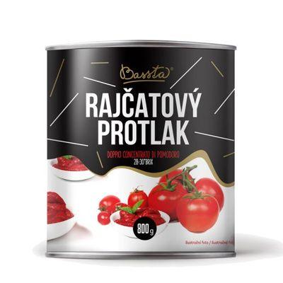 Pretlak paradajkový DVOJITÝ kon., Bassta 800 g 1