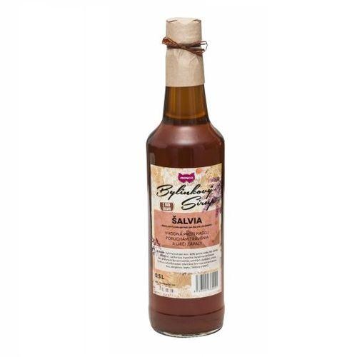Sirup bylinkový šalvia MOSCO 0,5l 1