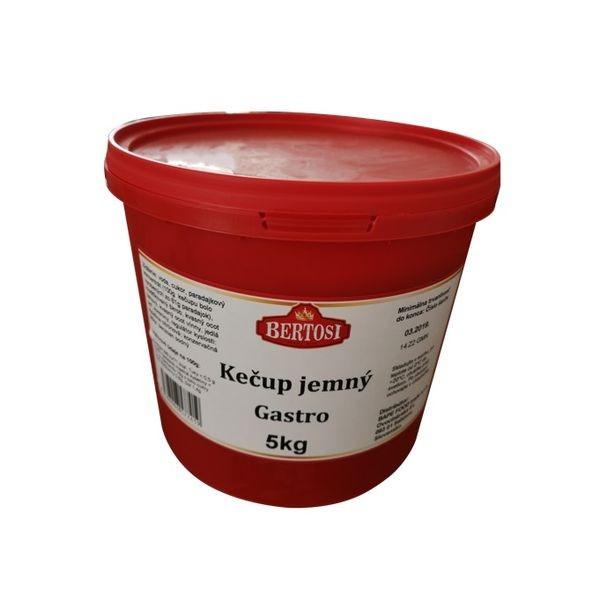 Kečup jemný gastro BERTOSI 5kg 1