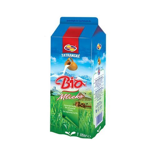 Mlieko BIO ČERSTVÉ plnotučné 3,6% 1l 1