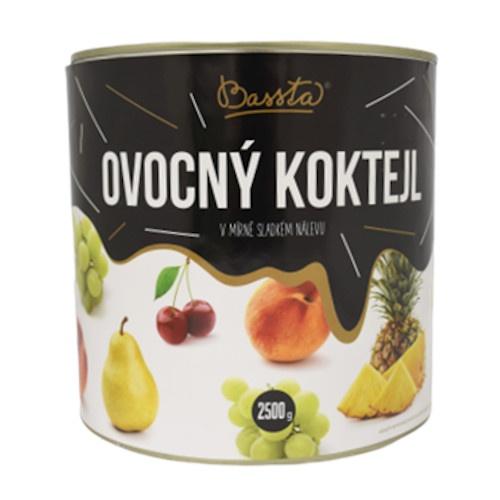 Kompót ovocný koktejl 2,5kg 1
