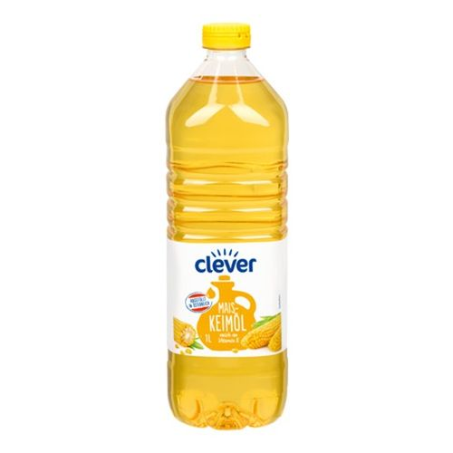 Olej kukuričný CLEVER 1l 1