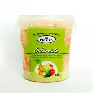 Čalamáda sladká PICKLES 850g vedierko 2