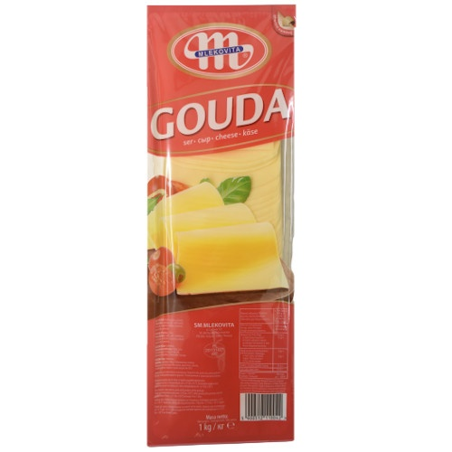 Syr GOUDA plátky 1kg Bal. 1