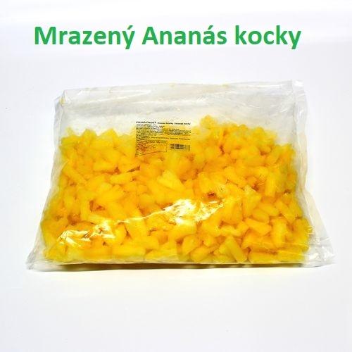 Mrazený ananás kocky VIKING FROST 1kg 1