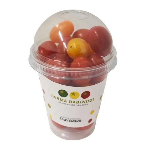 Paradajky cherry triomix shaker 250g BABINDOL I.Tr 1