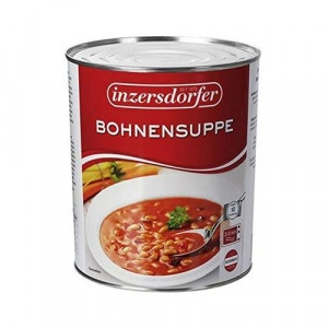 Fazuľová polievka INZERSDORFER plech 2900g 3