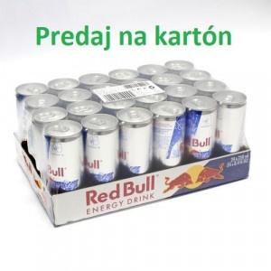 RED BULL energy drink 250ml PLECH 24ks/kart. 10