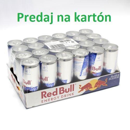 RED BULL energy drink 250ml PLECH 24ks/kart. 1