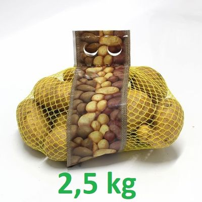 Zemiaky konz. žlté 2,5kg prané VT: AB 1