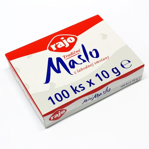 MINI Maslo 82% RAJO 10g x 100ks bal. 1