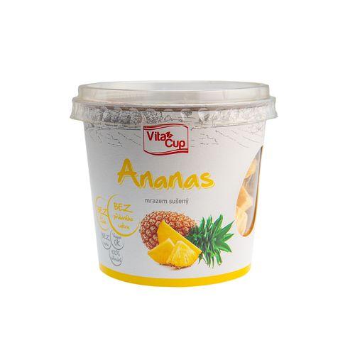Lyofilizovaný ananas kúsky 30g 1