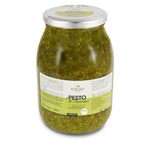 Pesto bazalkové NORD SALSE 900g sklo 1