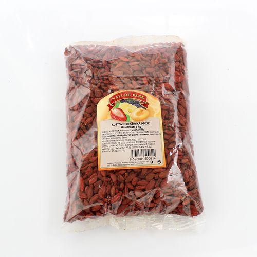 Kustovnica čínska goji sušená 1000g 1