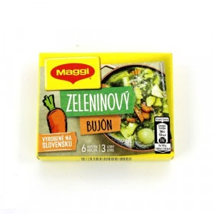 MAGGI Zeleninový bujón v kocke 3 l 6x10g 7