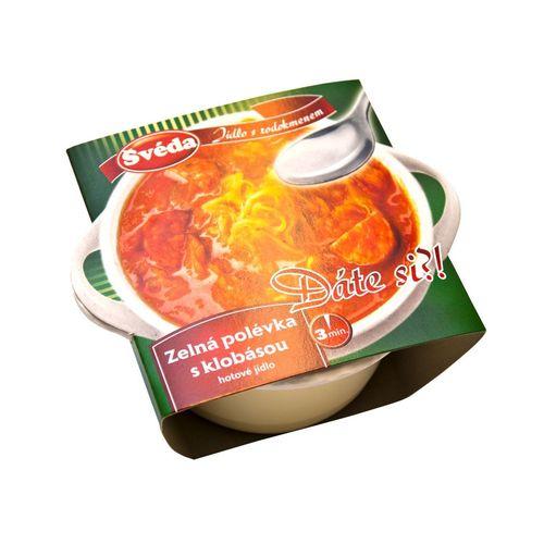 Hotové jedlo Kapustnica s klobásou ŠVÉDA 330g 1