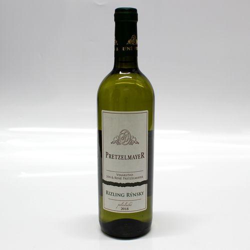 Víno b. RIZLING RÝN. polosl. PRETZELMAYER 0,75l SK 1