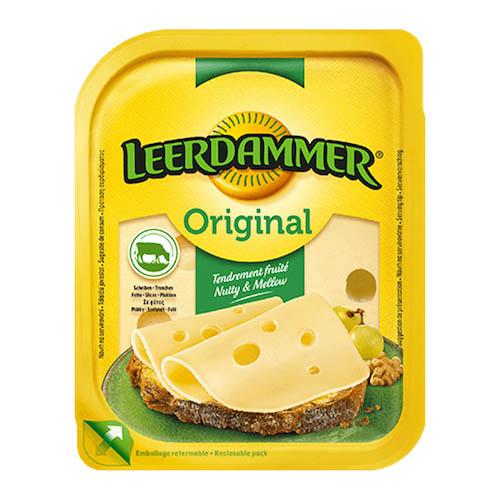 Syr LEERDAMMER originál plátky 45% 100g OA 1