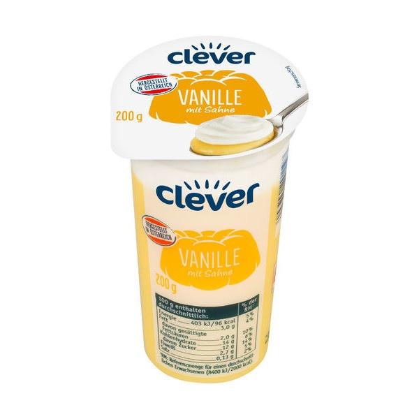 Puding vanil. so šľahačkou CLEVER AT 200g VÝPREDAJ 1