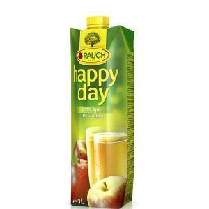 Džús jablkový 100% HAPPY DAY 1l 3