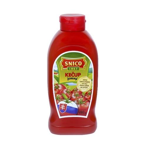 Kečup jemný SNICO tuba 980g 1