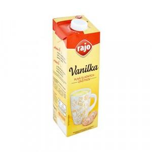 Nápoj mliečny VANILKA RAJO 1l 7