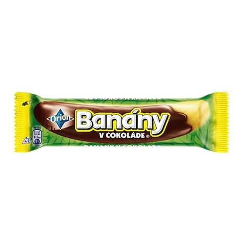 Banán v čokoláde 45g ORION 1