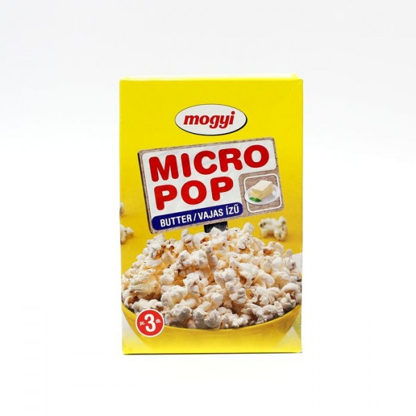 POPCORN micro maslový 300g 3 x 100g bal. 1