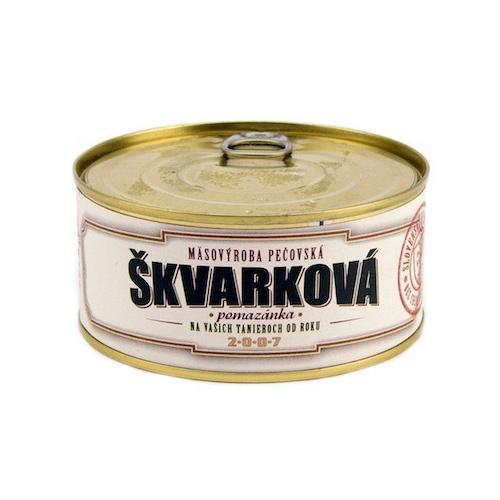 Škvarková pomazánka 280g Mäsovýroba Pečovská 1