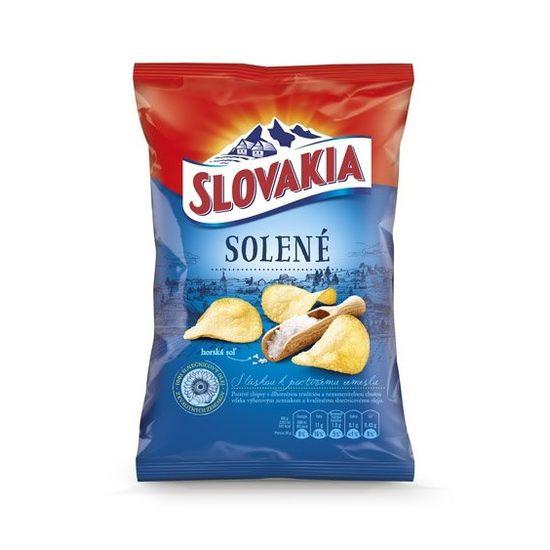 CHIPS Slovakia solené 140g 1