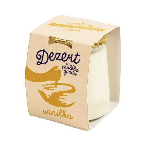 Dezert tvaroh.-smotanový vanilka MALÝ GAZDA 120g 1