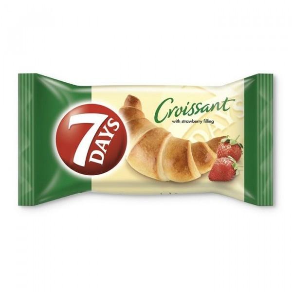 Croissant 7 DAYS jahoda 60g VÝPREDAJ 1