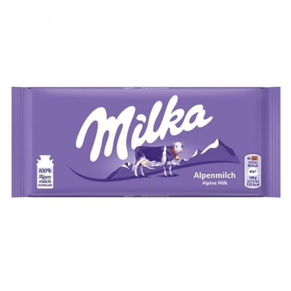 Čokoláda MILKA mliečna 100g 1
