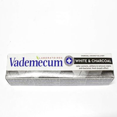 Vademecum White & Charcoal zubná pasta 75 ml 1