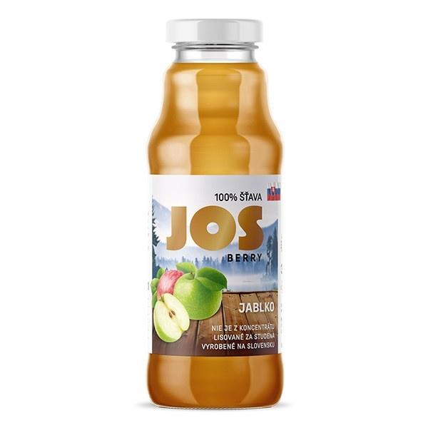 Šťava 100% PREMIUM JOS BERRY jablko 300ml 1