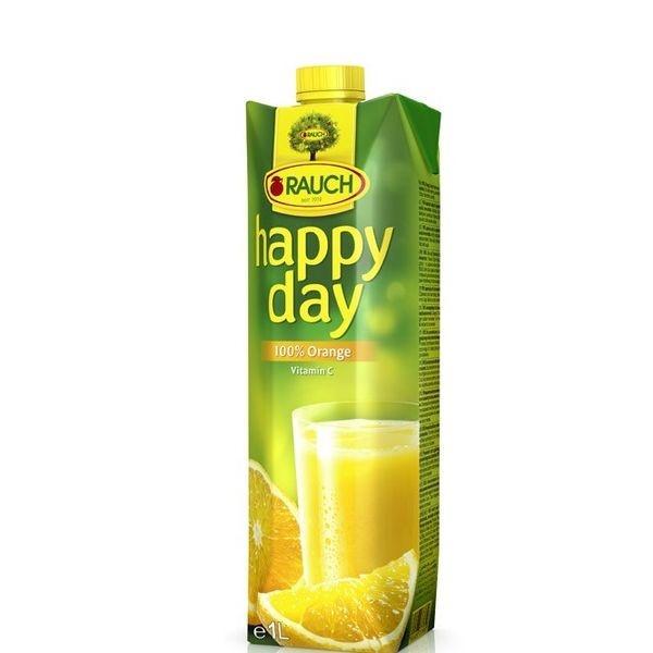 Džús pomarančový 100% HAPPY DAY 1l 1