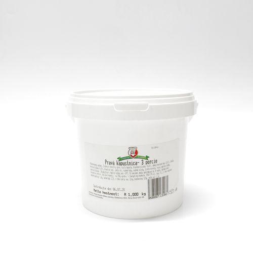 Hotové jedlo Kapustnica pravá mrazená Bognár 1kg 1
