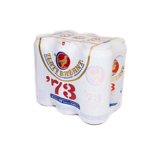 Pivo Zlatý Bažant 12% 73´ 0,5l plech 6ks balenie 1