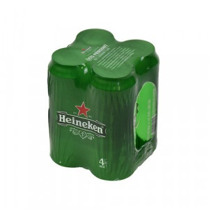 Pivo HEINEKEN 0,5l plech 4ks balenie 5