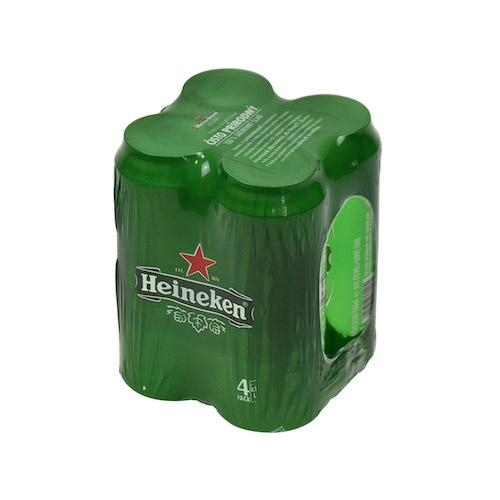Pivo HEINEKEN 0,5l plech 4ks balenie 1